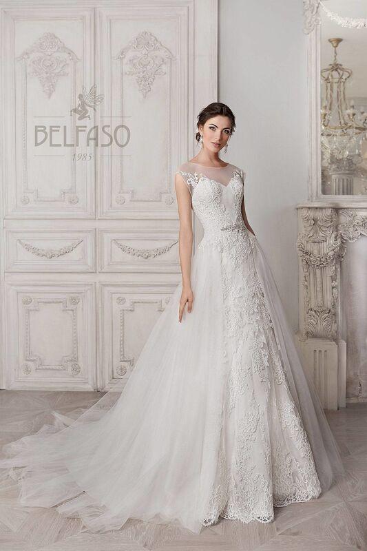 Свадебное платье напрокат Belfaso Платье свадебное Doroti - фото 2