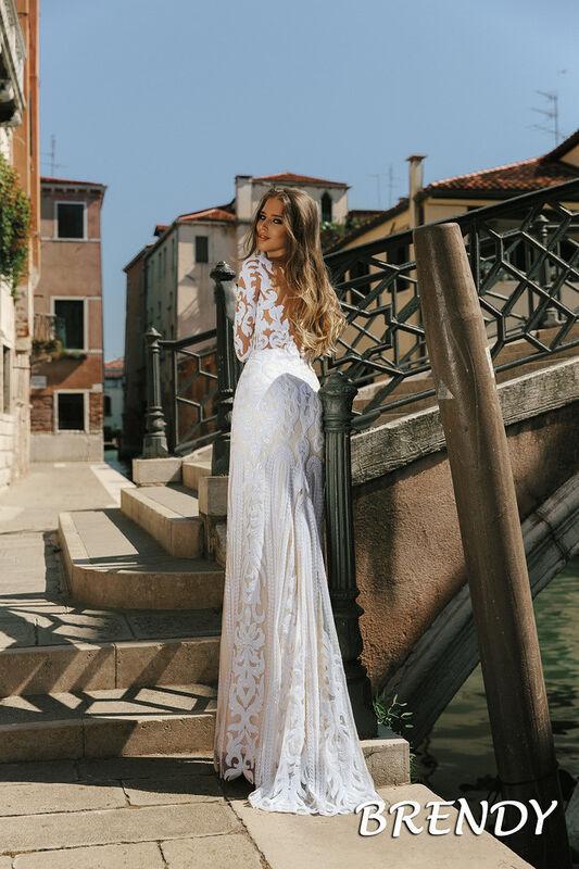 Свадебный салон Bonjour Galerie Свадебное платье Brendy из коллекции La Douceur - фото 3