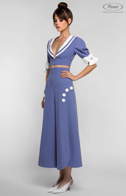 Костюм женский Pintel™ Комплект из болеро и брюк YANELLY - фото 5