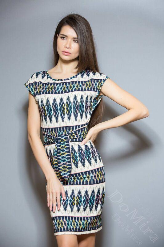 Платье женское DoMira Платье М-01-387 - фото 1