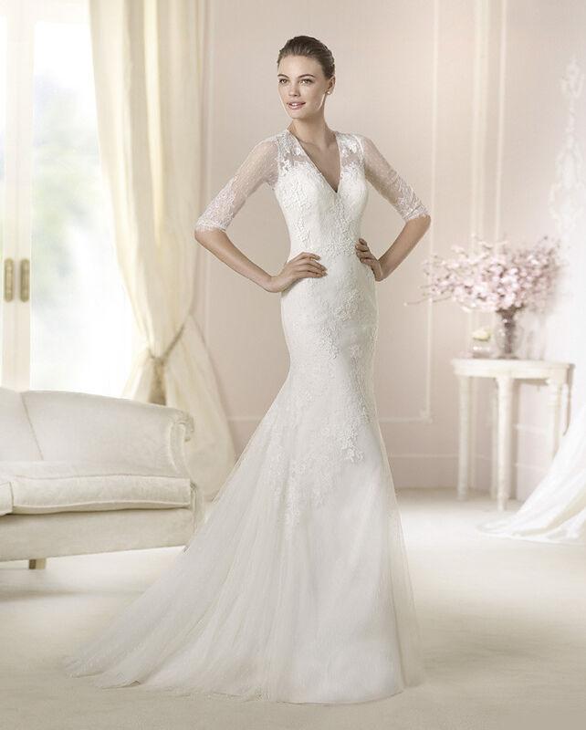Свадебное платье напрокат White One (Pronovias) Платье свадебное «Dalit» - фото 1