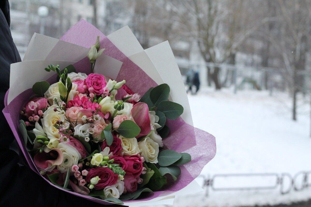 Магазин цветов Cvetok.by Букет «Ванильно-розовый» - фото 2
