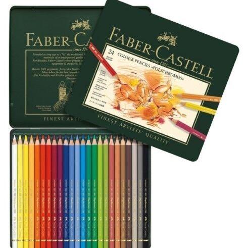 Товар для рукоделия Faber-Castell Цветные карандаши «Polychromos» - фото 1