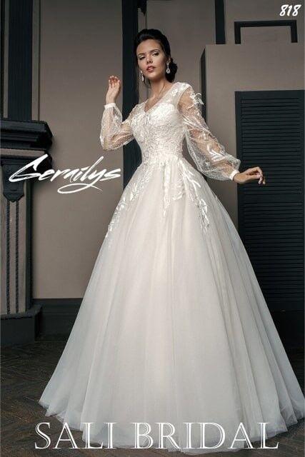 Свадебный салон Sali Bridal Свадебное платье 818 - фото 1