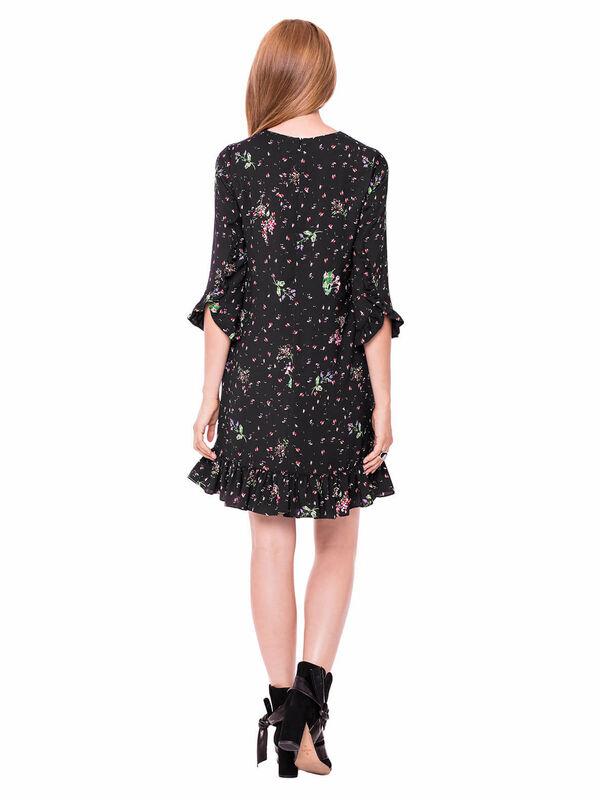 Платье женское L'AF Платье Arize 39YL (чёрное) - фото 2