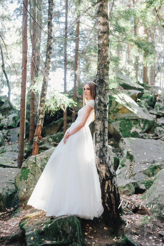 Свадебное платье напрокат Lanesta Свадебное платье Devotion - фото 1