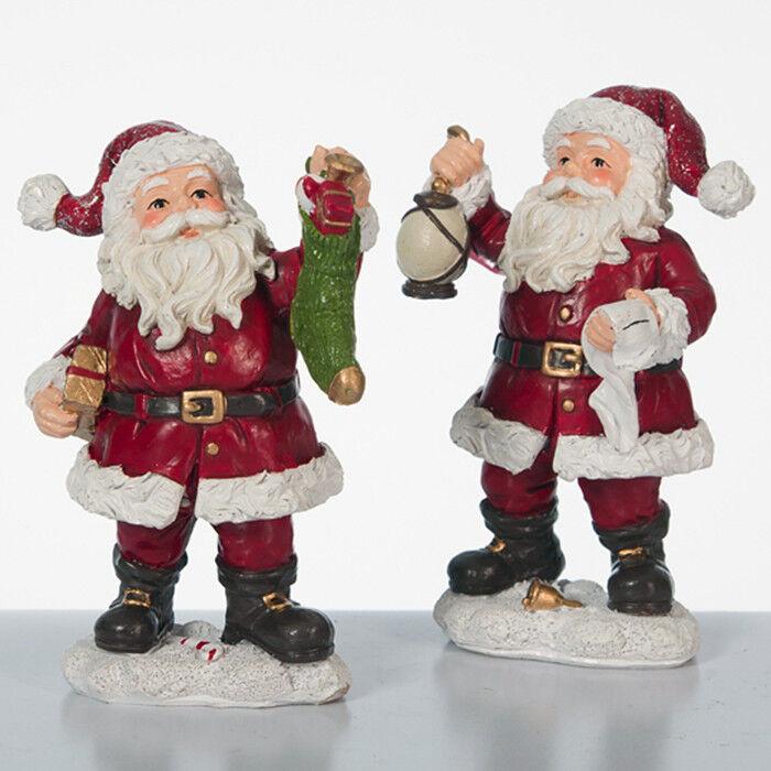Подарок на Новый год mb déco Статуэтка новогодняя «Санта» 56245/AMS в ассортименте - фото 1