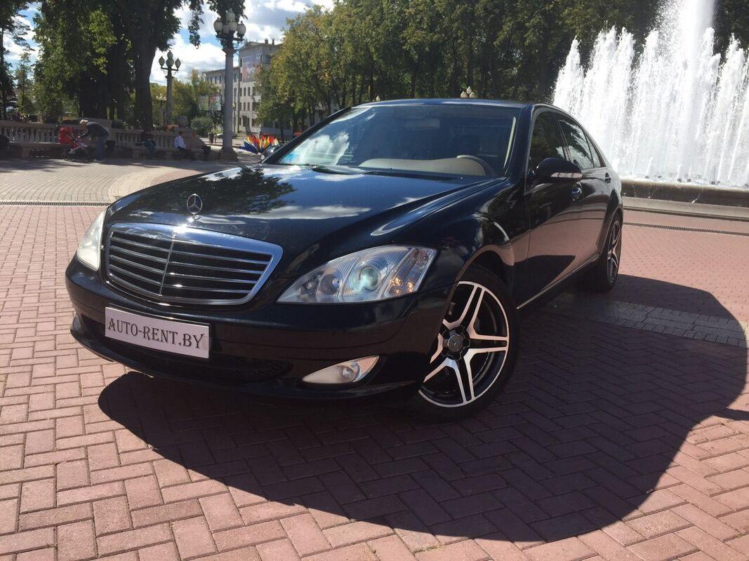Аренда авто Mercedes-Benz S350 W221 Long - фото 1