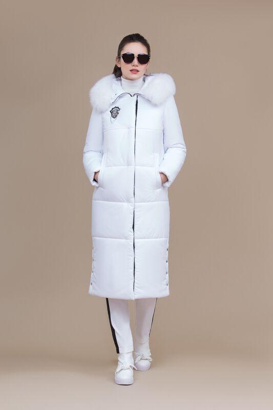 Верхняя одежда женская Elema Пальто женское плащевое утепленное 5-8146-1 - фото 3