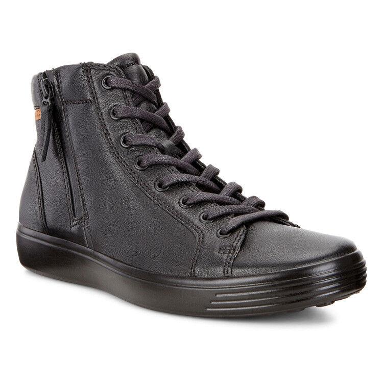 Обувь мужская ECCO Кеды высокие SOFT 7 430134/59075 - фото 1