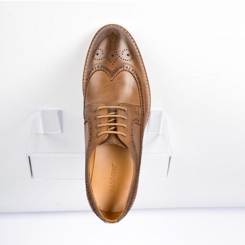 Обувь мужская BASCONI Полуботинки мужские 901F-3-3 - фото 3