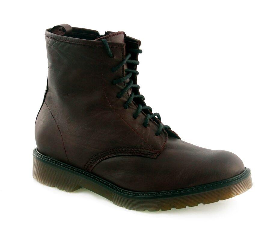 Обувь мужская William Massimi Ботинки мужские ale bordo - фото 1