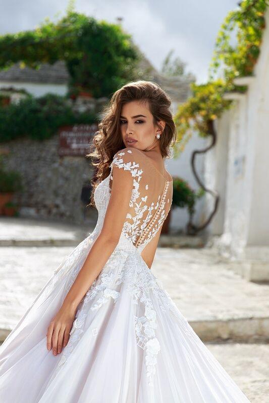"""Свадебное платье напрокат ALIZA свадебное платье """"Feona"""" - фото 1"""