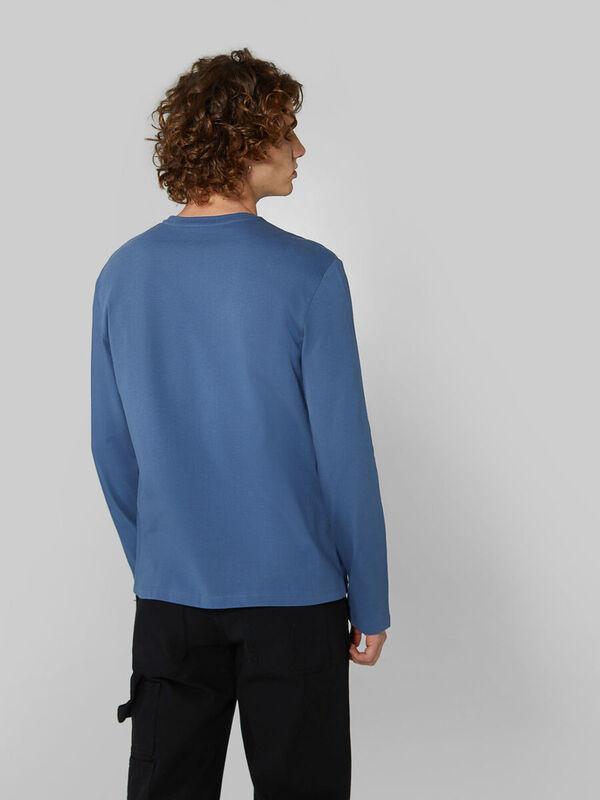 Кофта, рубашка, футболка мужская Trussardi Футболка мужская 52T00383-1T003076 - фото 2