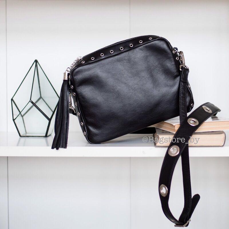 Магазин сумок Vezze Кожаная женская сумка C00440 - фото 2
