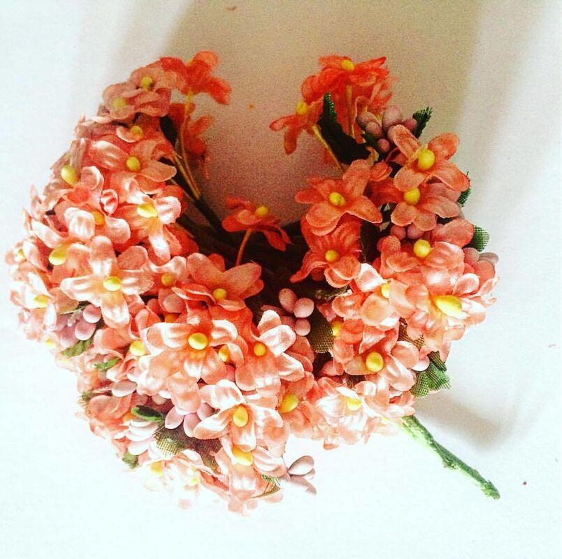 Товар для рукоделия Sofi Collection Цветы на ветке декоративные - фото 1