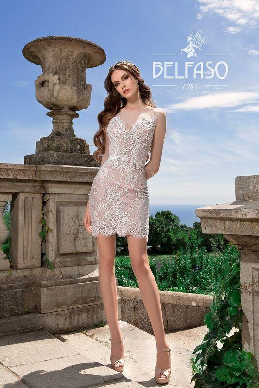 Свадебный салон Belfaso Свадебное платье Rami - фото 1