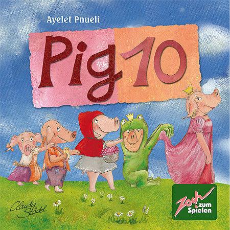 Магазин настольных игр Zoch Настольная игра «10 свинок» - фото 1