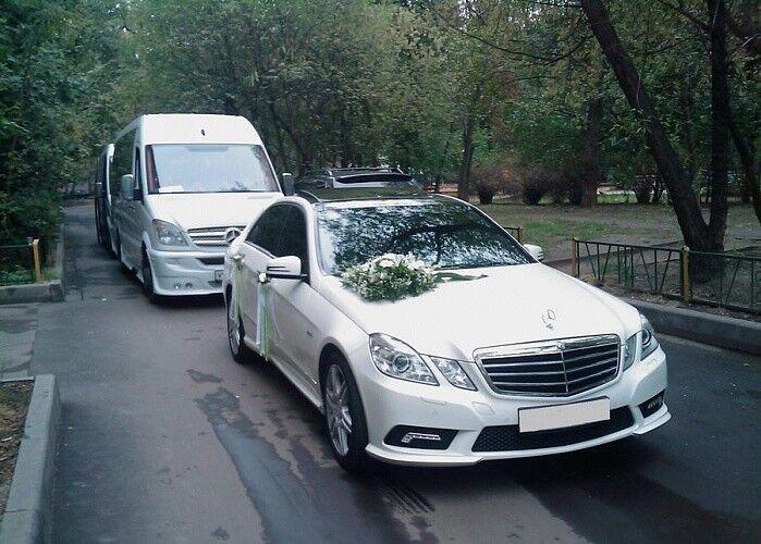 Прокат авто Mercedes-Benz E class W212 White R - фото 5