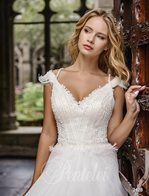 Свадебное платье напрокат Lavender Свадебное платье Penelopa - фото 2