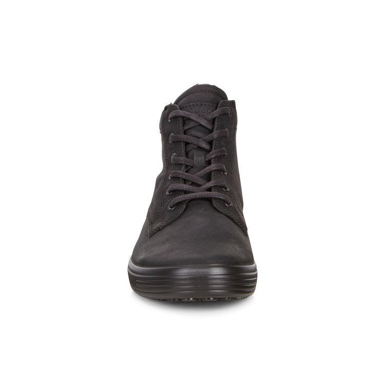 Обувь мужская ECCO Кеды высокие SOFT 7 430394/02001 - фото 4