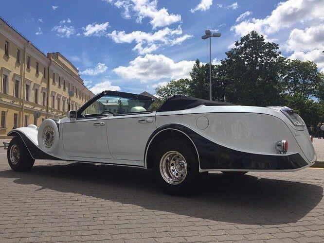 Прокат авто Excalibur Белый - фото 13