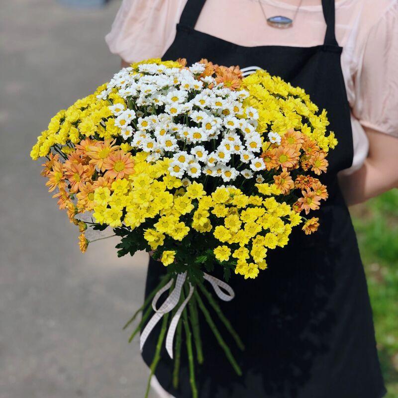 Магазин цветов Кошык кветак Букет классический №30 - фото 1