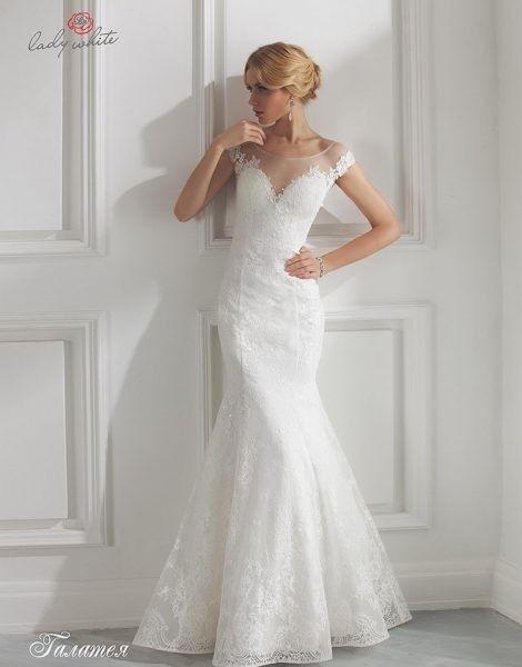 Свадебное платье напрокат Lady White Платье свадебное «Галатея» - фото 1