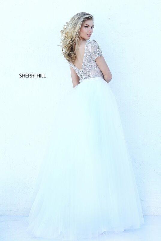 Свадебное платье напрокат Sherri Hill Платье свадебное 50710 - фото 3