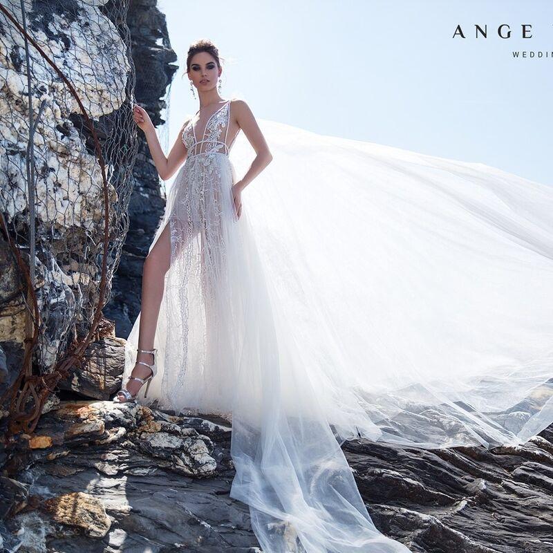 Свадебный салон Ange Etoiles Платье свадебное Ali Damore Luchi - фото 1