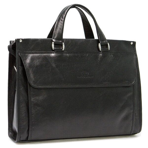 Магазин сумок Francesco Molinary Сумка мужская черная 513-7136-060 - фото 1