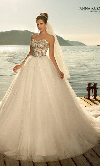 Свадебное платье напрокат Vanilla room Платье свадебное Бриджит - фото 1
