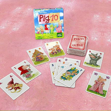 Магазин настольных игр Zoch Настольная игра «10 свинок» - фото 2