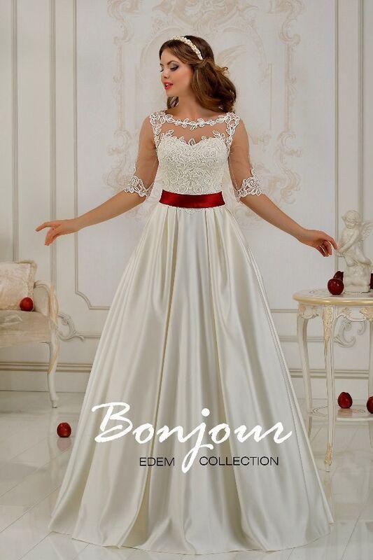 Свадебный салон Bonjour Свадебное платье «Elsa 2» из коллекции EDEM L'ECLAT 2016 - фото 1