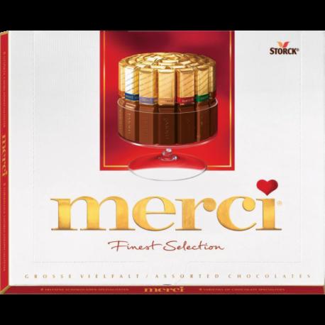 Подарок Storck Шоколад ассорти «Merci: Finest Selection», 250 гр - фото 1