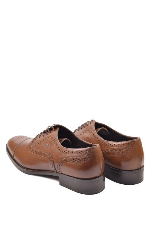 Обувь мужская HISTORIA Туфли оксфорд броги коричневые Sh.Br.73610 - фото 2