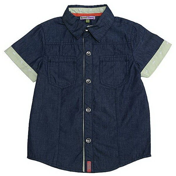Кофта, майка детская Sweet Berry Рубашка для мальчика SB176324 - фото 1