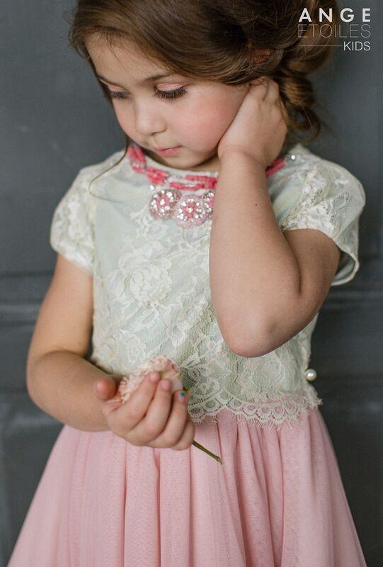 Вечернее платье Ange Etoiles Детское платье Kids Melissa - фото 2