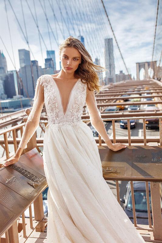 Свадебное платье напрокат Eva Lendel Tiana - фото 1