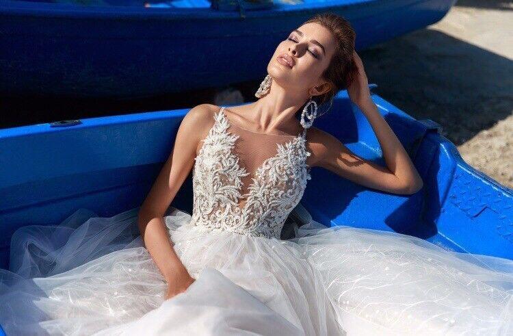 """Свадебное платье напрокат ALIZA Свадебное платье """"Victoria"""" - фото 3"""