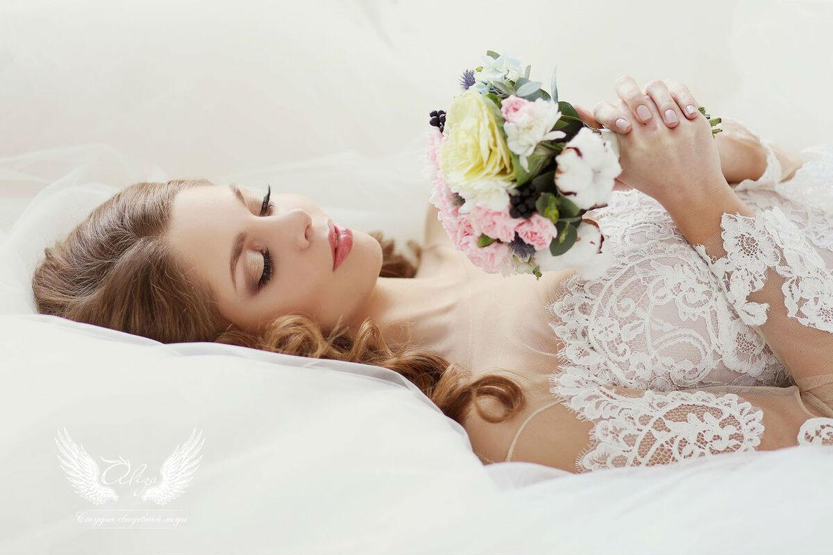 Свадебное платье напрокат ALIZA Платье свадебное «Amor 2» Soffito - фото 5