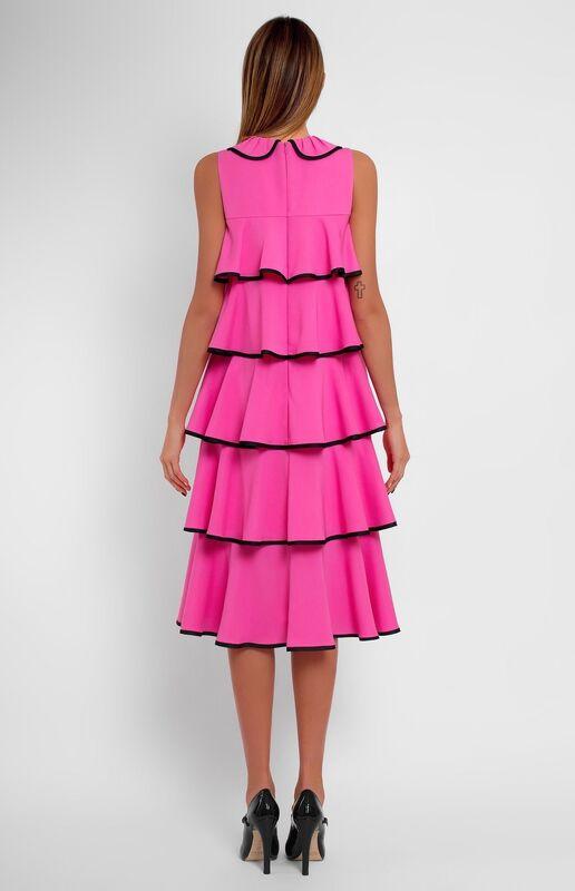 Платье женское Pintel™ Платье с воланами без рукавов Suvinja - фото 3