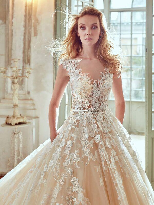 Свадебное платье напрокат Nicole Платье свадебное Elba - фото 3
