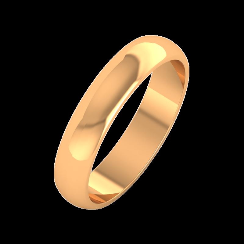 Ювелирный салон ZORKA Обручальное кольцо 104005 - фото 1