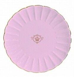 Подарок Nuova R2S Тарелка десертная розового цвета «Royal» 19 см, R1287#PIN- - фото 1