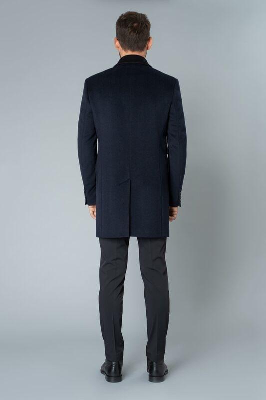 Верхняя одежда мужская Etelier Пальто мужское демисезонное 1М-9126-1 - фото 4