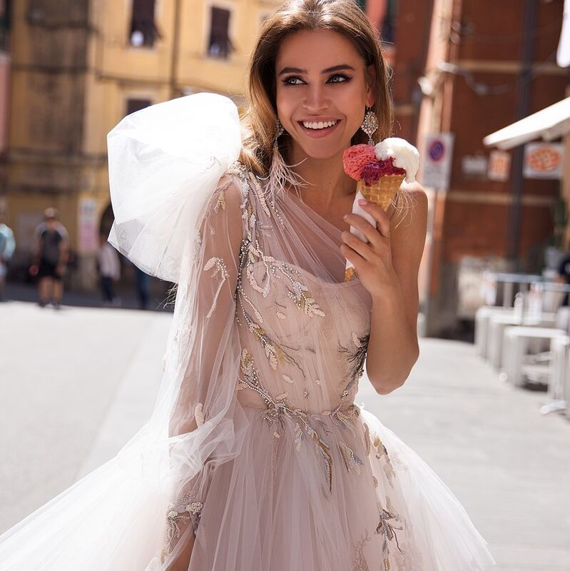 Свадебный салон Ange Etoiles Платье свадебное Ali Damore Gretta - фото 1