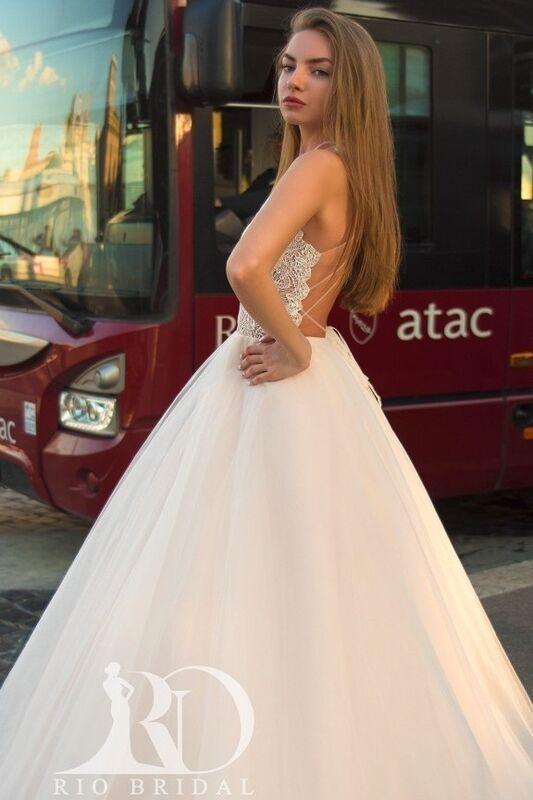 Свадебный салон Rafineza Свадебное платье Ingrit - фото 3