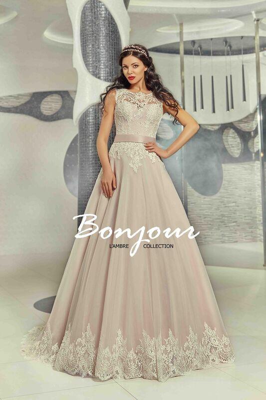 Свадебный салон Bonjour Galerie Свадебное платье «Ornella» из коллекции LAMBRE - фото 1