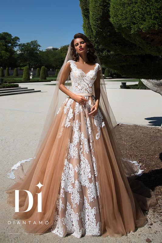 Свадебное платье напрокат Diantamo Платье свадебное Debora - фото 1